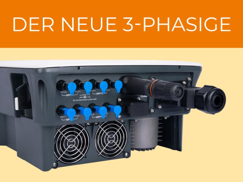 Sungrow: Der neue 3-Phasige Abbildung Wechselrichter von unten mit Anschlüssen