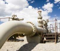 Zu sehen ist eine Gaspipeline in Wyoming. Deutsche Wasserstoffnetze sollen im EnWG geregelt werden.